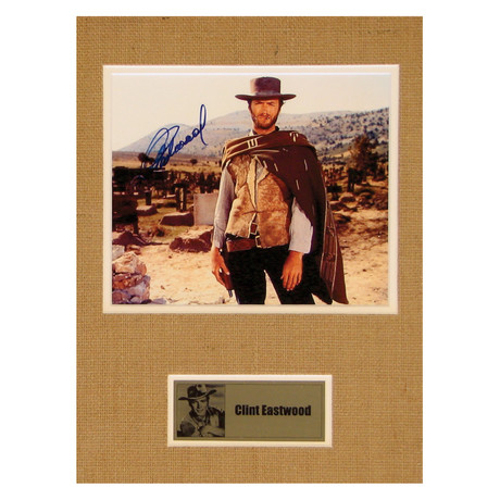 Clint Eastwood // The Good The Bad And The Ugly // Signed Photo