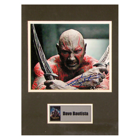 Dave Bautista // Drax // Signed Photo