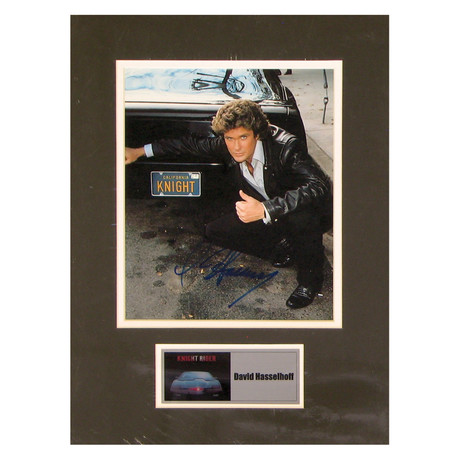 David Hasselhoff // Knight Rider // Signed Photo