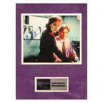 David Duchovny + Gillian Anderson // The X Files // Signed Photo