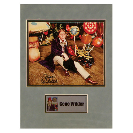 Gene Wilder // Willy Wonka & The Chocolate Factory // Signed Photo