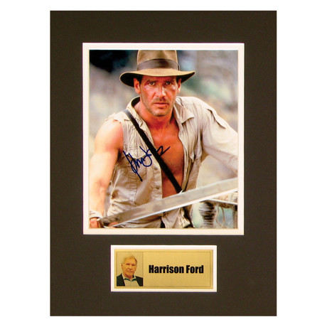 Harrison Ford // Indiana Jones // Signed Photo