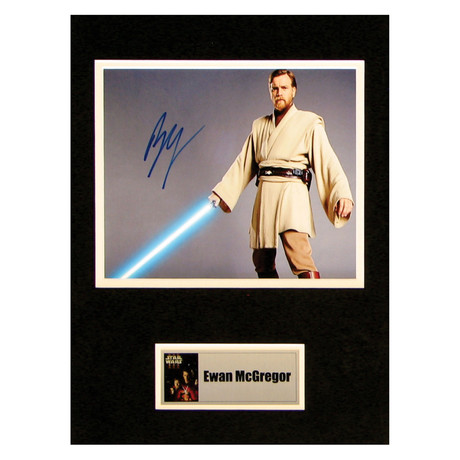 Ewan McGregor // Obi-Wan Kenobi // Signed Photo