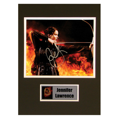 Jennifer Lawrence // The Hunger Games // Signed Photo