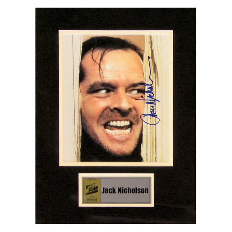 Jack Nicholson // The Shining // Signed Photo