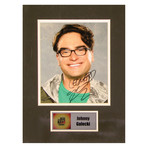 Johnny Galecki // The Big Bang Theory // Signed Photo