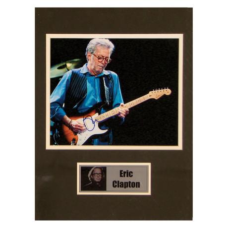 Eric Clapton // Signed Photo