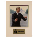 Roger Moore // 007 // Signed Photo