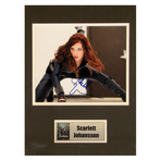 Scarlett Johansson // Black Widow // Signed Photo