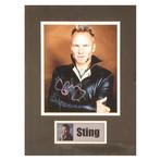 Sting // Signed Photo