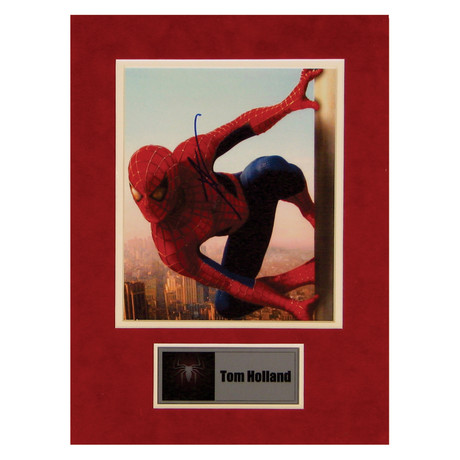 Tom Holland // Spiderman // Signed Photo