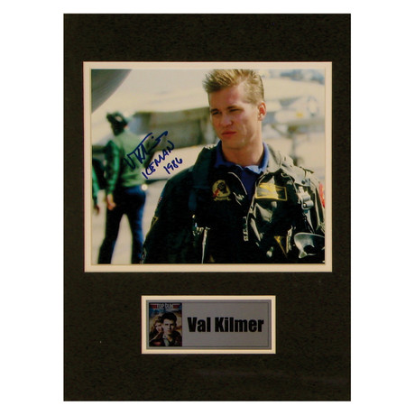 Val Kilmer // Top Gun // Signed Photo