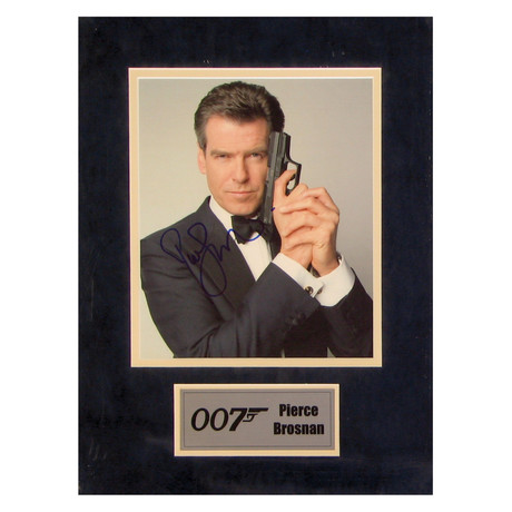 Pierce Brosnan // 007 // Signed Photo