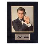 Pierce Brosnan // 007 // Signed Photo