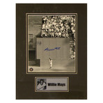 Willie Mays // Signed Photo