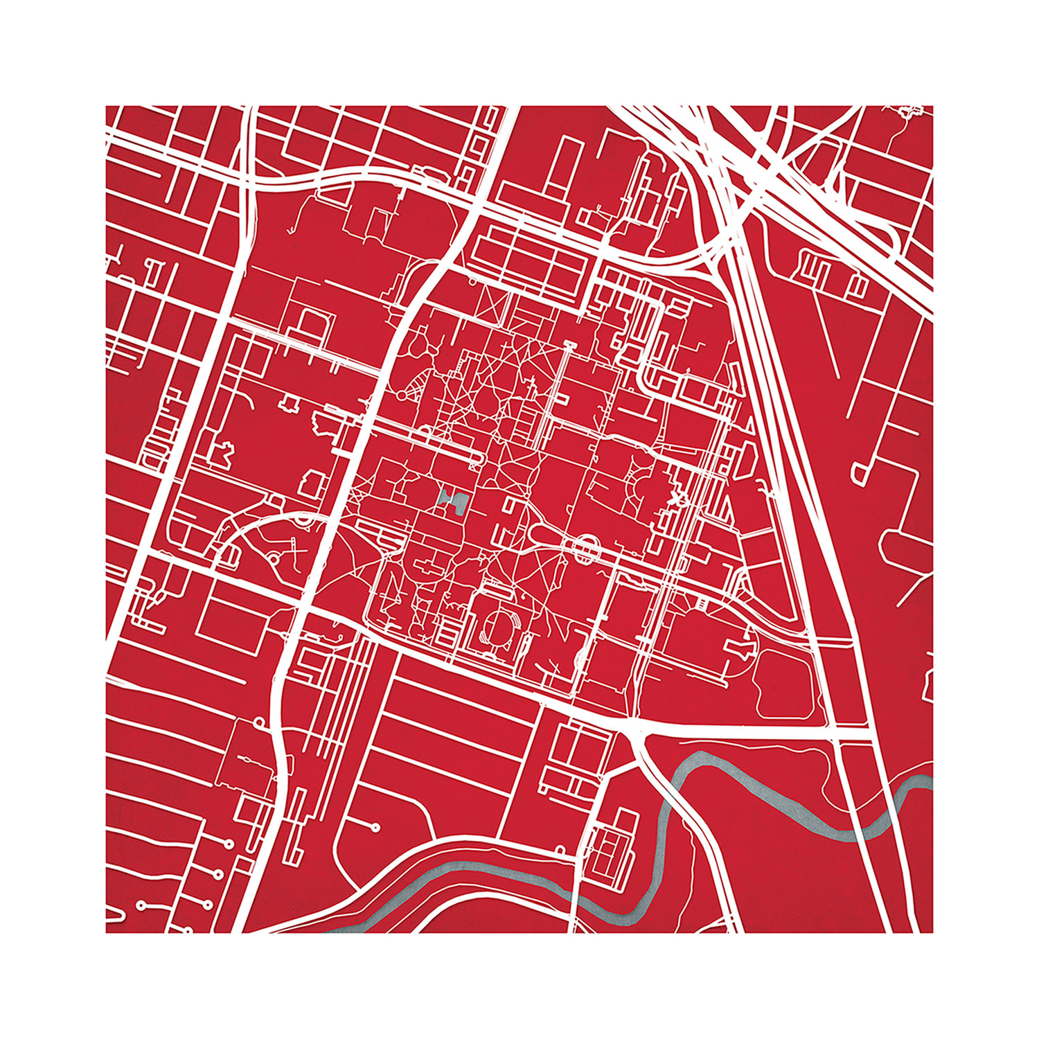 University Of Houston College Campus Maps Touch Of Modern
