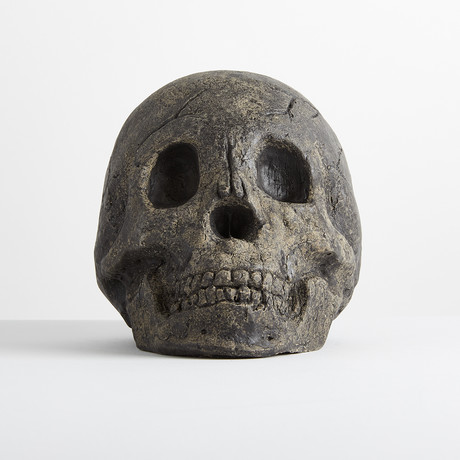 Ceramic Gray Skull // One-Piece