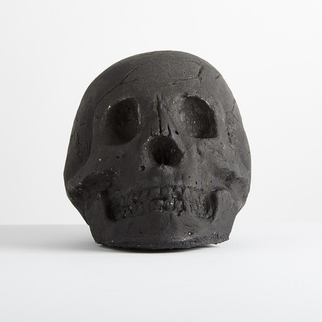 Ceramic Tarred Skull // One-Piece