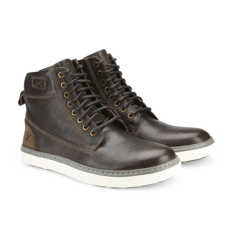 Cromwell Mid-Top Boot // Dark Brown (US: 7.5)