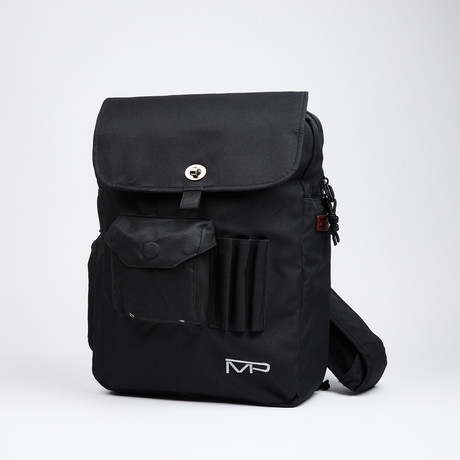 Man-PACK Classic 3.0 XL // Black (Left Shoulder // With Strap Extension)