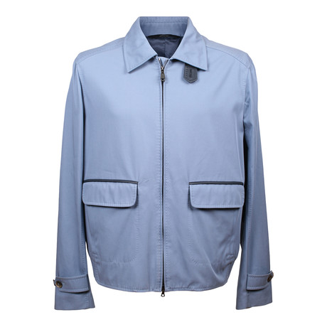 Two Tone Jacket // Blue (XS)