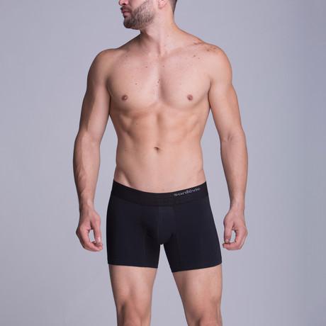 F.E. - Medium Boxer // Black (XS)