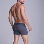 F.E. - Medium Boxer // Grey (XS)