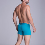 F.E. - Medium Boxer // Green Blue (XS)