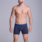 Medium Microfiber Boxer // Dark Blue (XS)