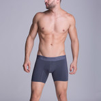 Medium Microfiber Boxer // Grey (S)