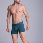 Medium Microfiber Boxer // Military Green (XS)