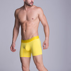 Medium Microfiber Boxer // Yellow (S)