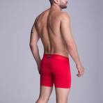 F.E. Long Boxer // Red (S)