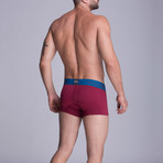 S1 Short Boxer // Red Wine (S)