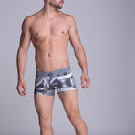Sublimate Short Boxer // Grey (S)