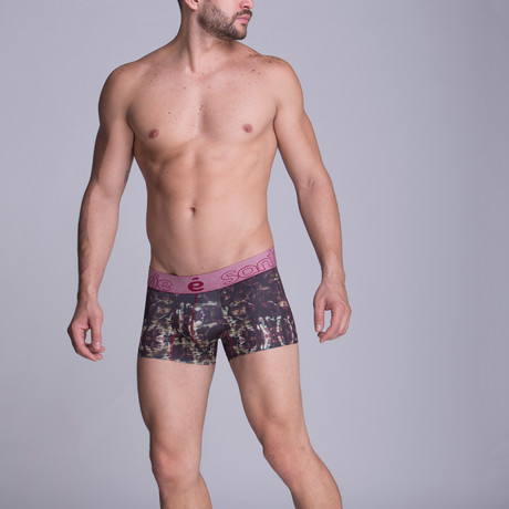 Sublimate Short Boxer // Red Wine (S)