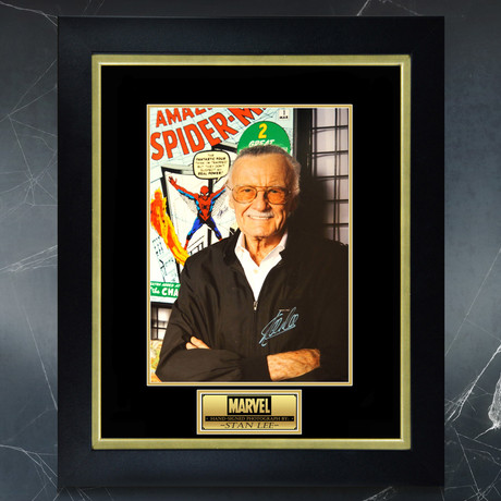 Stan Lee // Signed Photo // Custom Frame 2