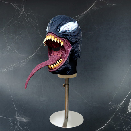 Venom Premium Mask + Display Head Stand (Mask Only)