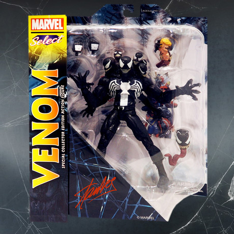 Venom // Stan Lee Signed // Limited Edition Statue