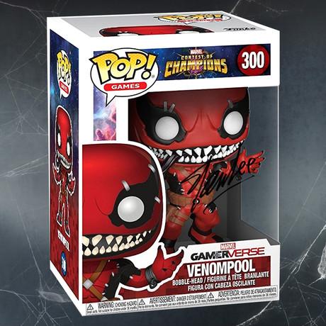 Venompool // Stan Lee Signed Pop
