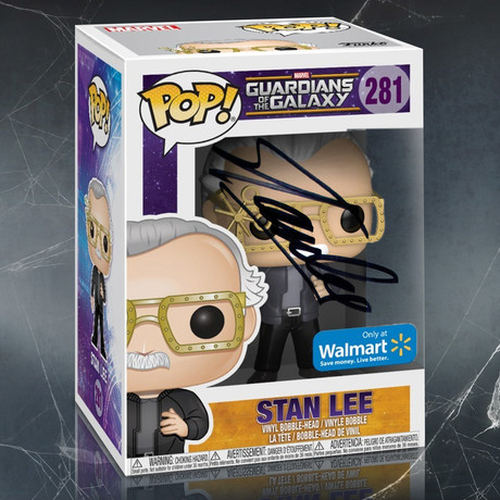 Stan Lee Guardians of the Galaxy // Stan Lee Signed Pop
