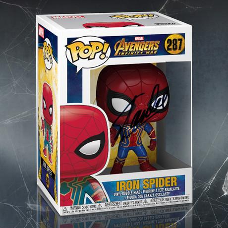Infinity War Iron Spider // Stan Lee Signed Pop