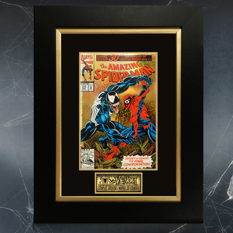 Amazing Spider-Man Giant 30th Anniv.- #375 // Stan Lee Signed Comic Book (Signed Comic Book Only)