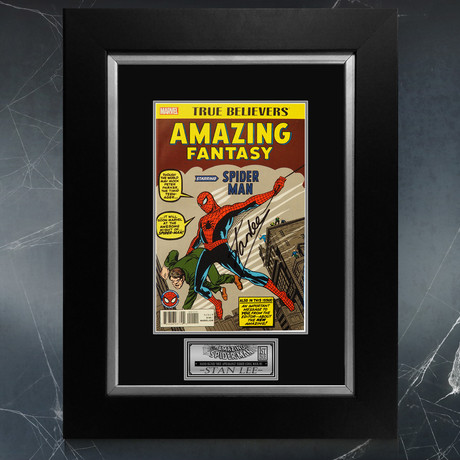 Amazing Fantasy #15 - Spider-Man Milestones Edition // Stan Lee Signed Comic Book (Signed Comic Book Only)