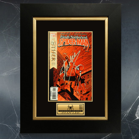 Spider-Man Neighbourhood 'The Other' # 1 // Stan Lee Signed Comic Book (Signed Comic Book Only)