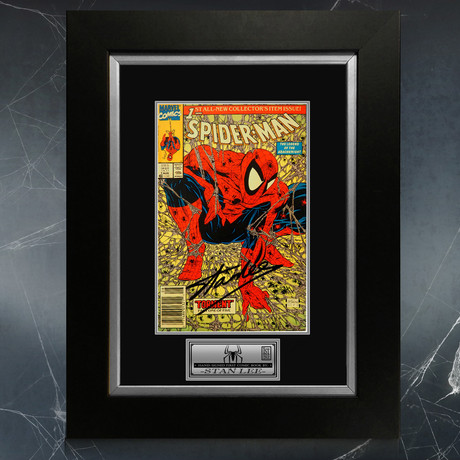 Spider-Man Torment #1 Color Variant // Stan Lee Signed Comic Book (Signed Comic Book Only)