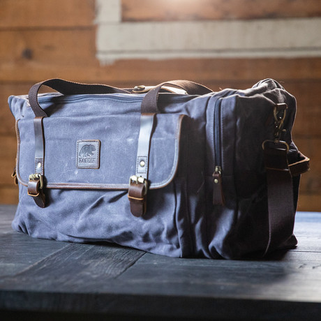 25L Denali Duffel (Gray Canvas)