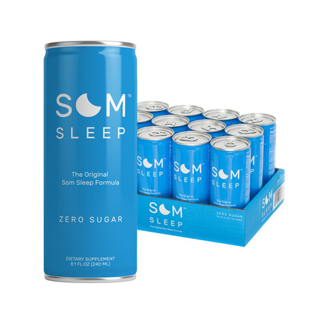 Som Sleep Zero Sugar // 12 Pack