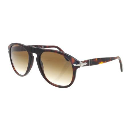 Persol // Classic Sunglasses // Dark Havana + Brown Gradient