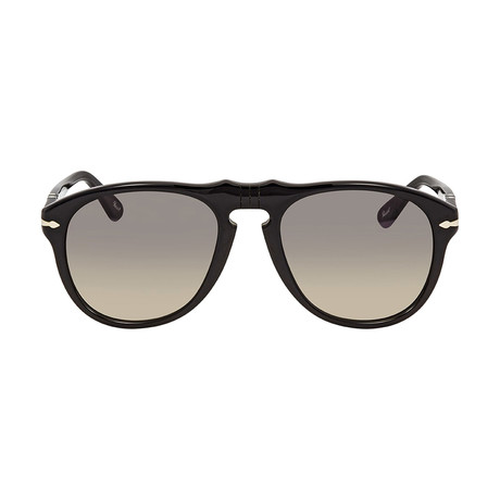 Classic Sunglasses // Black + Grey Gradient
